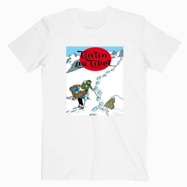 The Adventures Of Tintin In Tibet Tshirt