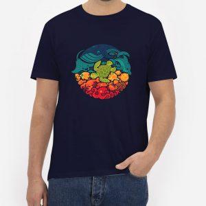 Aquatic-Rainbow-T-Shirt-For-Women-And-Men-S-3XL