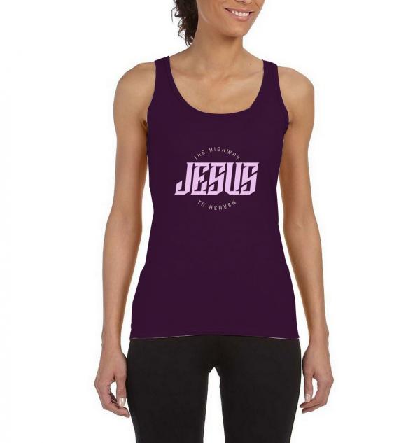 Jesus-Highway-To-Heaven-Tank-Top