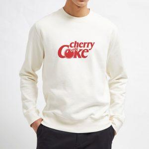Red-Cherry-Coke-Sweatshirt-Unisex-Adult-Size-S-3XL