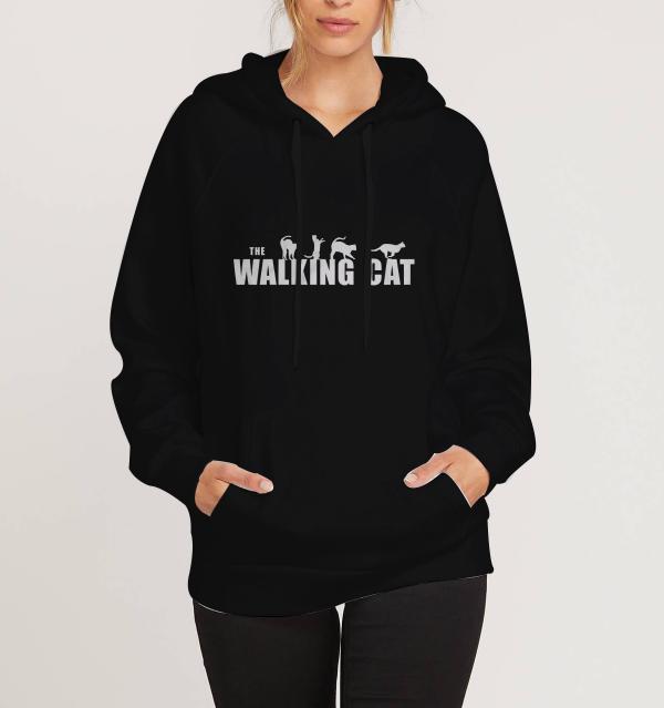 The-Walking-Cat-Black-Hoodie