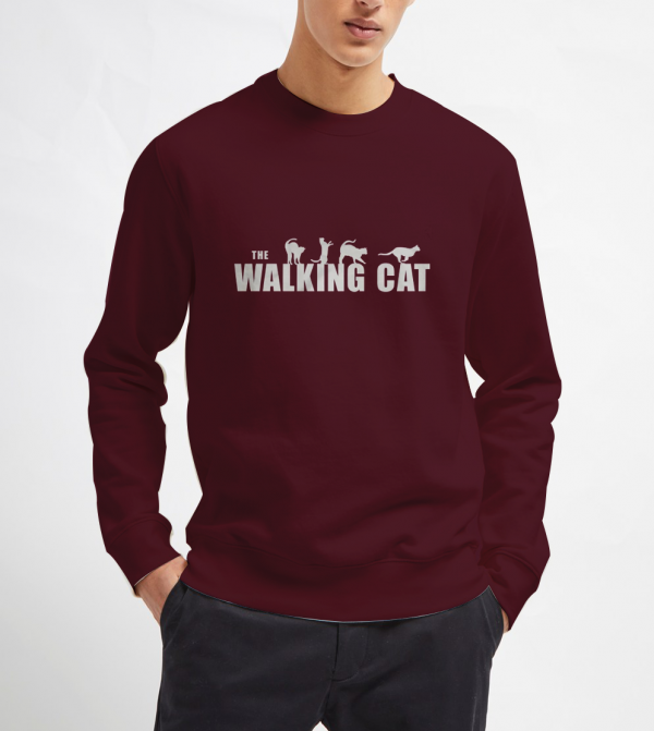 The-Walking-Cat-Sweatshirt
