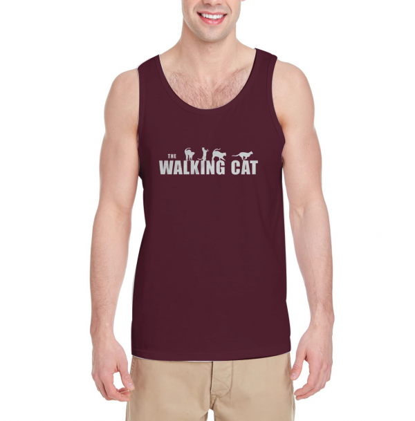 The-Walking-Cat-Tank-Top