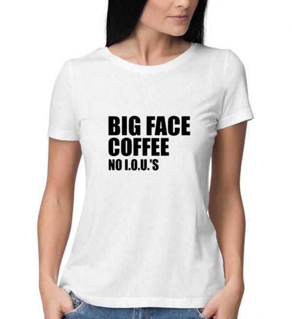 Big-Face-Coffee-White-T-Shirt