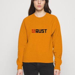 Rust-Game-Artwork-Orange-Sweatshirt