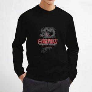 White-Dragon-Noodle-Bar-Black-Sweatshirt