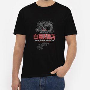 White-Dragon-Noodle-Bar-Black-T-Shirt